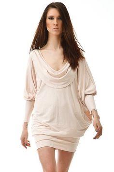 36(S) Z odsłoniętymi plecami kremowa (proj. YY.fashion)