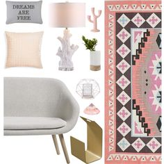 for lazy days. by tothineownselfbtrue on Polyvore featuring interior, interiors, interior design, home, home decor, interior decorating, HAY, Safavieh, Plum & Bow and abcDNA