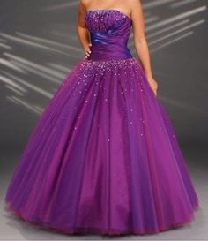 Cheap Quinceanera Dresses, Buy Directly from China Suppliers: hi,we have stock for this dress ,back is lace up . if u need custom made ,need add fee is . Dark Purple Prom Dresses, Purple Dress, Purple Satin, Pink Blue, Tulle Prom Dress, Homecoming Dresses, Bridesmaid Dresses, Graduation Dresses, Gown Dress
