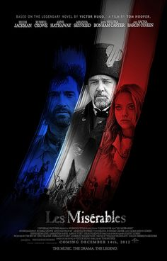 les miserables 2012 movie poster