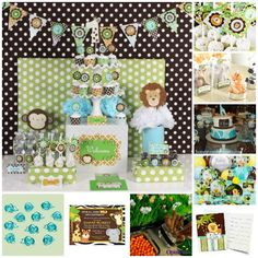 safari baby shower ideas for boys | ... themes cool ideas for a baby boy theme pooh baby shower jungle baby