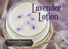 Simple Lavender Lotion