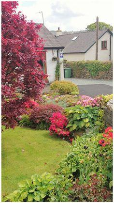 pretty garden in the Lake District, Coneston