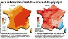 COP21 : comment le changement climatique affectera la France - Science et vie