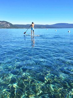 Domonique Matthews of The Simple Proof shares her favorite spots for a summer visit to beautiful Lake Tahoe. Lake Tahoe shines in the summer months—literally, with its crystal-clear waters, green mountainside trails and clean alpine air. Lake Tahoe Hiking, Lake Tahoe Summer, Lake Tahoe Vacation, South Lake Tahoe, Vacation Spots, Places To Travel, Places To See, California Travel, Tahoe California