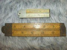 shopgoodwill.com: Antique Folding Rulers  $55