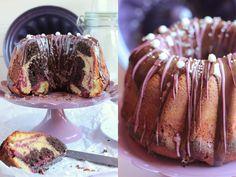 Miss Blueberrymuffin's kitchen: Mein schönster Marmorkuchen #Rührkuchenqueens