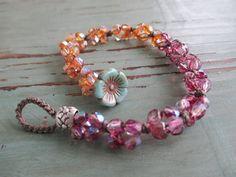 slashKnots knotted bracelet  Sweet Stacks / por slashKnots en Etsy