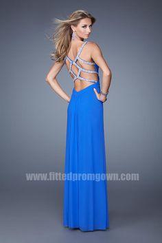 La Femme Beaded Dress