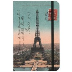 eiffel tower notebook - I have this exact notebook at home. Journaling + France = :)