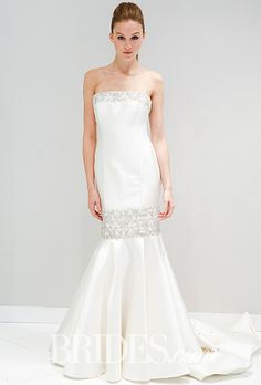 Brides: Randi Rahm Wedding Dresses - Fall 2016 - Bridal Runway Shows - Brides.com