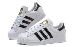 Tenis Adidas Superstar Couro Branco  26ac187e9826b