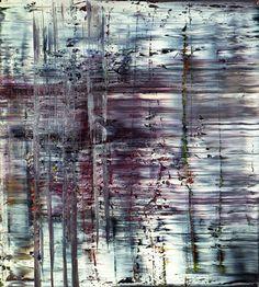 Gerhard Richter, Abstraktes Bild (722-3), 1990, Öl auf Leinwand, 200 x 180 cm, Schenkung des Künstlers, Galerie Neue Meister, Staatliche Kunstsammlungen Dresden © Gerhard Richter 2013