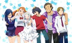 e-shuushuu kawaii and moe anime image board Moe Anime, Manga Anime, Anime Art, Anime Characters Birthdays, Menma Anohana, Baka To Test, Otaku, Little Busters, Japanese Horror