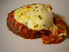 Buddy Valastros Vegetarian Eggplant Parmesan