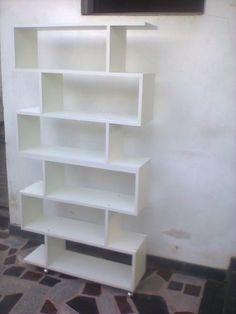 Biblioteca - Organizador - Cubos - Divisor De Ambientes - Blanco