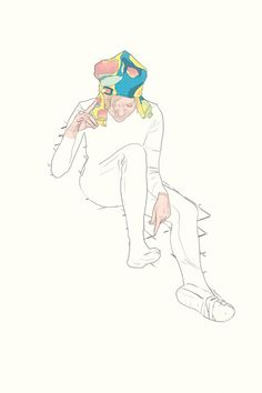 "Saatchi Online Artist: Blake Peterson; Giclée Print, 2012, Printmaking ""Harmony"""