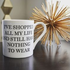 """I've shopped all my life and still have nothing to wear."" This is the story of my life!"