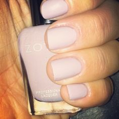 Zoya polish in Kendal. Its the perfect pale purple!