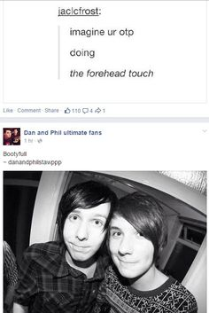Image result for phan faces touching