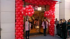 déco ballons pour magasins sur la cote d'azur www.daniki.com