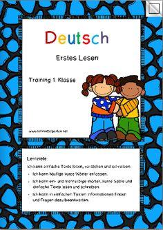 Lernzieltraining Deutsch 1. Klasse: Erstes Lesen