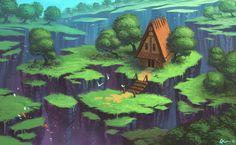 Summer House by Timooon.deviantart.com