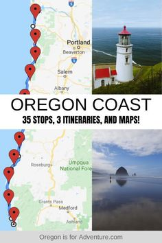 Ultimate Oregon Coast Road Trip In my opinion, the Oregon Coast is one of the best roadtrips in America, with beauty around every corner. I have spent a lot of time on the Oregon Coast and have discovered so many incredible places along the w Oregon Travel, Oregon Coast Roadtrip, Oregon Beaches, Oregon Road Trip, Travel Usa, Travel Info, Travel Guide, Texas Travel, Road Trip Usa