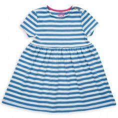 Nautical stripy jersey dress
