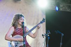 Banjo pickin' girl Abigail Washburn at the superjam | The Bluegrass Situation