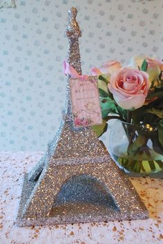 glitter eiffel tower