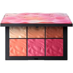 Exposed Cheek Palette is a palette of six lightweight pigments encapsulated in a breakthrough NARS formula that delivers a sheer wash of color to accentuate all skin tones. Nars Cosmetics, Benefit Cosmetics, Lip Palette, Makeup Palette, Nars Blush Palette, Blushes, Sephora, Zoeva, Eye Palettes