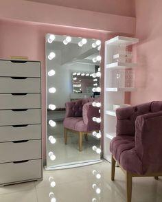 Mirror Wall Tiles, Patio Tiles, Room Decor Bedroom, Mirror Bedroom, Bedroom Ideas, Beauty Room, Decoration, House Design, Design Room