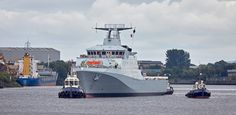 'HMS Forth' passing Braehead - 21 August 2016 Ww2, Military, Boat, Ship, River, Navy, Gallery, Photography, Image