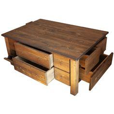 masivní stůl se šuplíky
