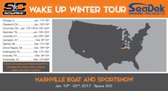 SC Wake in Booth #325 at the Nashville Boat Show | SeaDek Marine Products Blog – Swim Platform Pads