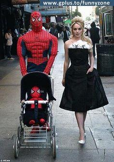 Superheroes ... ??? -- #Spiderman #Family