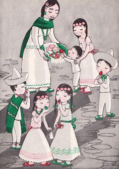 Angelo the Naughty One - written by Helen Garrett, illustrated by Leo Politi (1944).