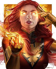 Marvel Xmen, Marvel Fan Art, Marvel Comics Art, Marvel Cinematic, Captain Marvel, Jean Grey Phoenix, Dark Phoenix, Phoenix Force, Marvel Heroines