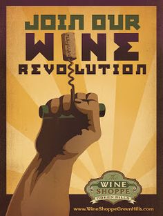Anderson Design Group: Blog: New Wine Revolution Posters