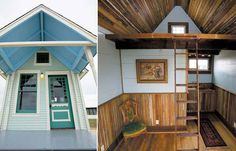 Using the vintage materials stockpiled by his architectural salvage business, Discovery Architectural Antiques, in Gonzales, Texas, Brad Kittel builds these beautiful, one-of-a-kind tiny houses. Typically only the plumbing, electrical systems, and insulation are new. Each one of his Tiny Texas Houses evokes a period style, whether it's a Queen Anne with gingerbread trim or a gambrel-roofed Dutch Colonial.