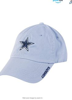 100% Cotton Imported About: Officially licensed NFL (National Football League) product by Dallas Cowboys. Dallas Cowboys Merchandise brings you the best in men's, women's and youth Dallas Cowboys fan gear apparel. Unstructured heavy garment washed cotton 6-panelShow your support for America's Team with the Dallas Cowboys Basic Slouch Cap. This cap has a Dallas Cowboys star logo on the front and 'COWBOYS' down the side of the bill. Dallas Cowboys Star, Cowboys Men, All Nfl Teams, Star Logo, National Football League, Fan Gear, Baseball Cap, Youth, Cotton