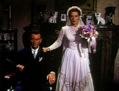 Wedding attire from The Quiet Man,a 1952 American Technicolor romantic comedy-drama film,directed by John Ford and starred John Wayne, Maureen O'Hara