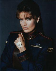Tracy Scoggins Babylon 5 Five 8x10 Photo A Capt Elizabeth Lochley   eBay