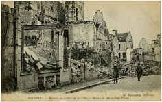 SOISSONS. - Ruins in the middle Town.