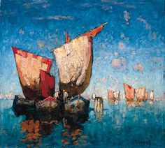 Art Inconnu - Little-known and under-appreciated art.: Konstantin Gorbatov (1876 - 1945)