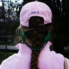 Polo Ralph Lauren hat with a Vineyard Vines Croakie and a Marley Lilly  monogram. Preppy 401c10b68a23