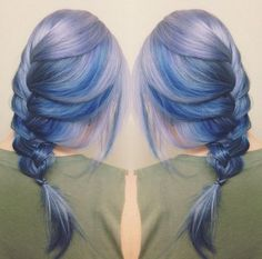 Braided moonstone hair