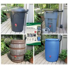 EarthMinded DIY Rain Barrel Diverter and Parts Kit - walmart