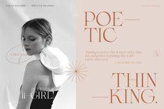 Juliette - Poetic Serif + Symbols by Madebysté Studio on @creativemarket Graphic Design Typography, Graphic Design Art, Chloe Lewis, Modern Serif Fonts, Font Setting, Art Director, Lowercase A, Brochure Design, Editorial Design